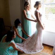 bridesmaids dresses, lace, turquoise, wedding dresses