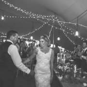 bride and groom, bride and groom, fairy lights