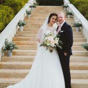 bouquet, wedding dress