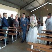 aisle, bridal bouquet