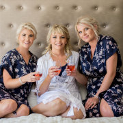 bridesmaids, dressing gowns
