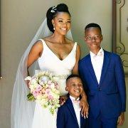 bouquets, bride, page boys