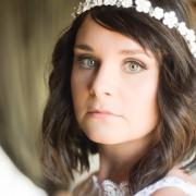 bride, bride, bride, bride, bride, bride, bride, bride, bride, makeup, closeup, flowercrown