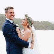bride and groom, bride and groom, flower crown