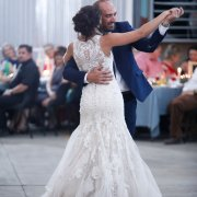first dance, lace, wedding dress, wedding dress