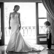 bride, dress, page boy