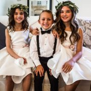 flower girls, page boy
