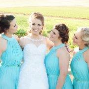 bridesmaid, light blue
