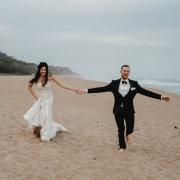 beach, bride and groom, bride and groom, bride and groom