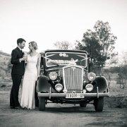 bride, car, groom