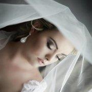 bride, veil