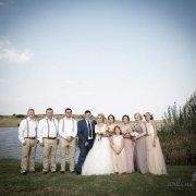 wedding party, blush