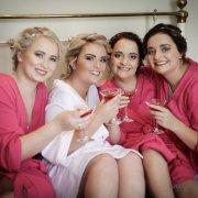 bridesmaids, pink, martini