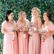 bridesmaids dresses, pink