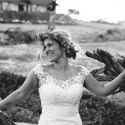 bride, flowercrown