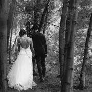 forest, wedding dress, wedding dress