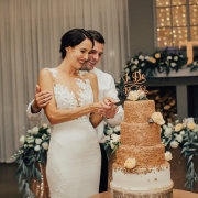 bride, cake, groom