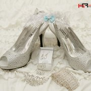 hair accessories, shoes, earin