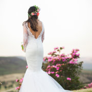 lace, wedding dress