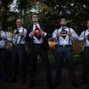 groomsmen, super heroes