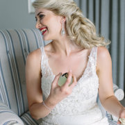 bride, getting ready, hair