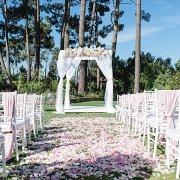 confetti, gazebo, gazebo, rose petals