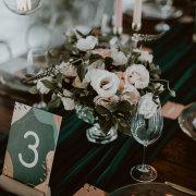 floral arrangements, wedding stationery